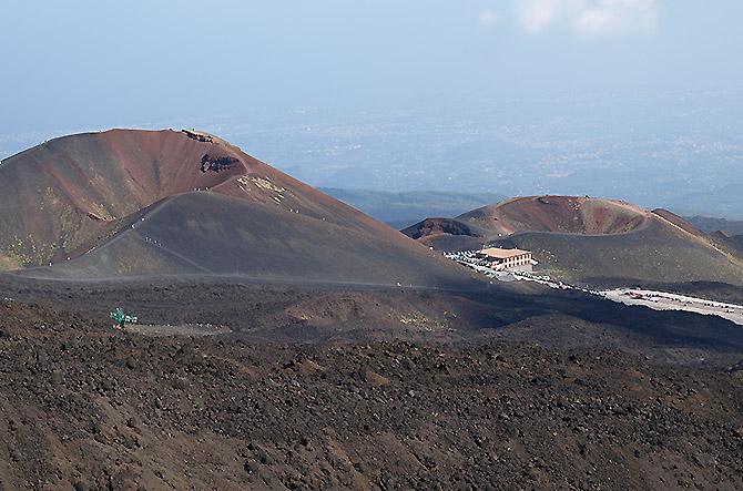 Vue panoramique Etna au Matin