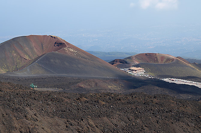 Etna Morning crateri silvestri