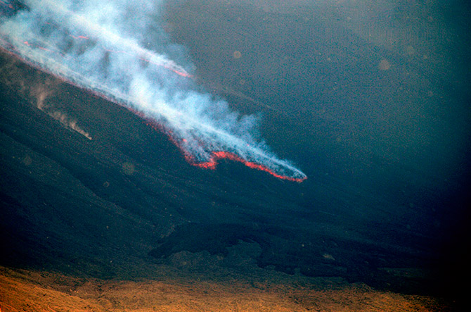 Etna speciale eruzioni colata lavica