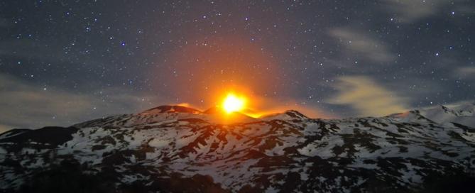 Etna, Sicilia, Eruzione