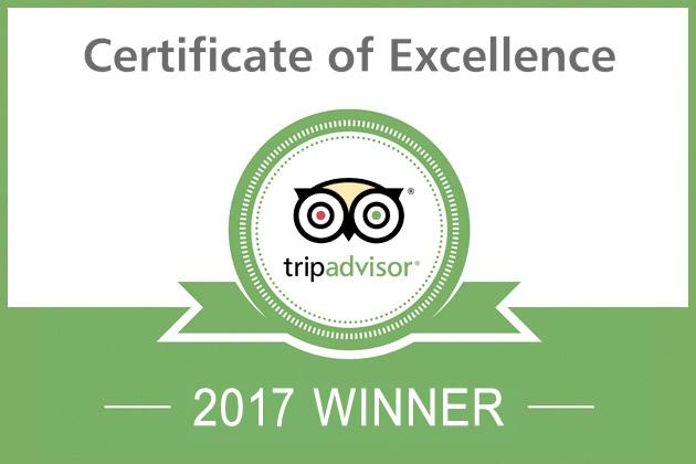 Etnaest Tripadvisor Excellence 2017