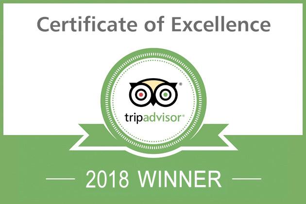 Etnaest Tripadvisor Excellence 2018