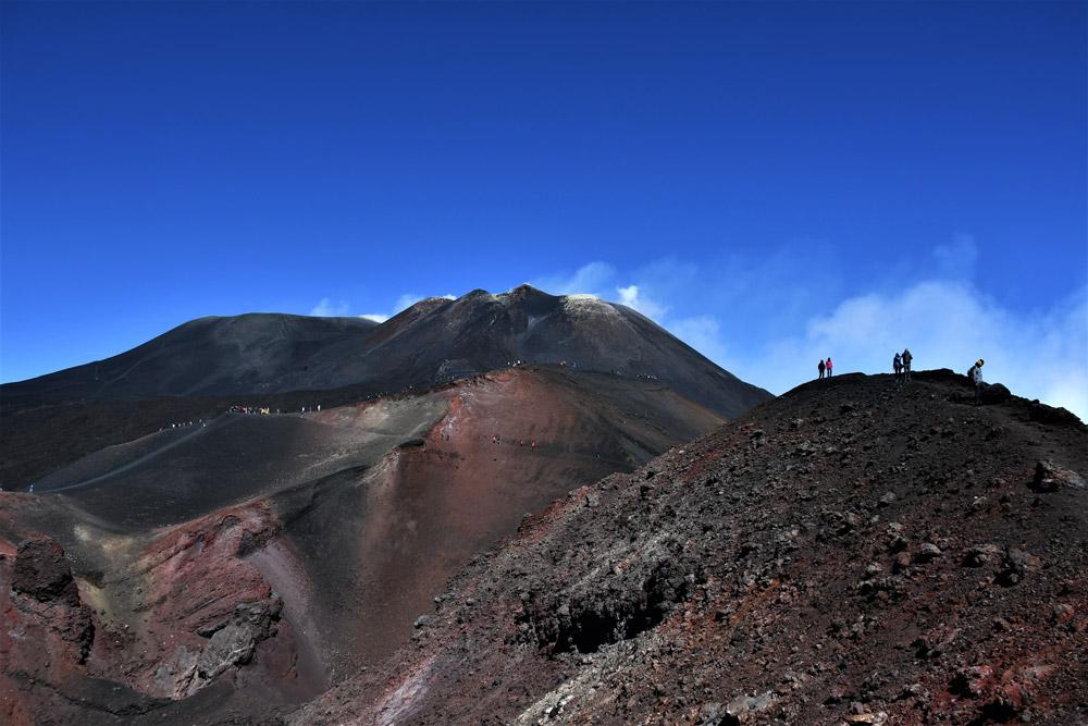 Photo Etna Cratères Sommitaux