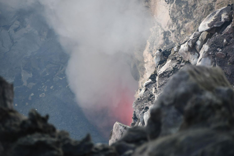 Etna Cratères Sommitaux lava