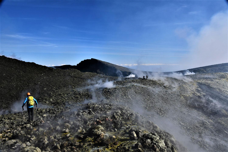 randonnée etna cratères sommitaux
