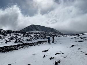 Escursione sull'Etna con la neve
